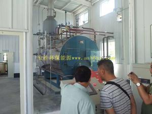 汉中茶厂2吨蒸汽甲醇锅炉